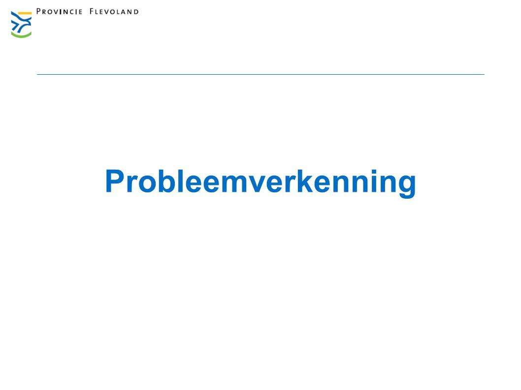 Aanleiding Stedelijke Bereikbaarheid Almere  Termijn 2030-2040  Van180.000 naar 350.000 inwoners  Groei van minimaal 50.000 arbeidsplaatsen  Verkeers- en vervoersvoorzieningen onvoldoende omvang Maatregelen Bereikbaarheid Almere o.a.: - Verbreding Waterlandseweg 11