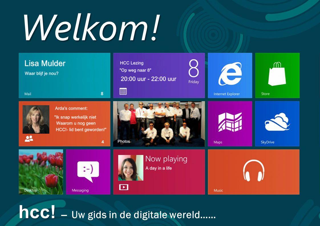 1 Welkom! hcc! hcc! – Uw gids in de digitale wereld……