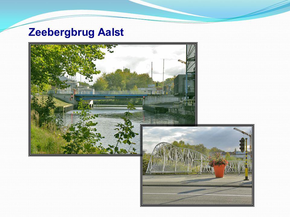 Zwartehoekbrug te Aalst naast onze vvw Jachtclub Aalst