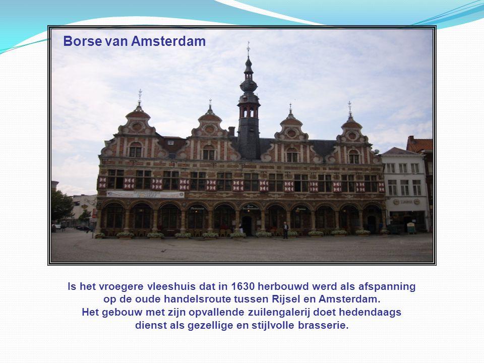 Cultuurcentrum De Werf Deze naam verwijst naar de vroegere haven en scheepstimmerwerf die zich hier in de buurt aan de Dender bevond.