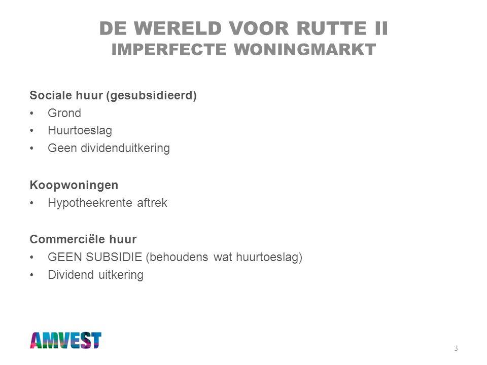 4 DE CONSUMENTENVRAAG •Aantal huishoudens groeit •Productie blijft achter •Subsidie verdwijnt (zeer geleidelijk) •De kosten voor wonen gaan voor iedereen toenemen • SCHAARSTE Total # Dutch households +10% Total Dutch population +5%
