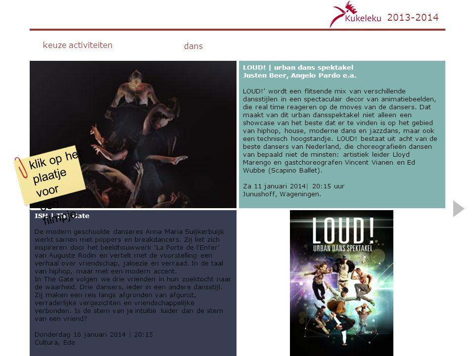 ISH   The Gate De modern geschoolde danseres Anna Maria Suijkerbuijk werkt samen met poppers en breakdancers. Zij liet zich inspireren door het beeldh