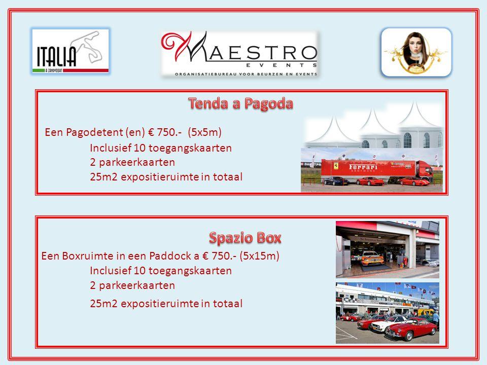 Als Gran Sponsor Mille Miglia Oro is uw bedrijf een hoofdsponsor van Italia a Zandvoort.