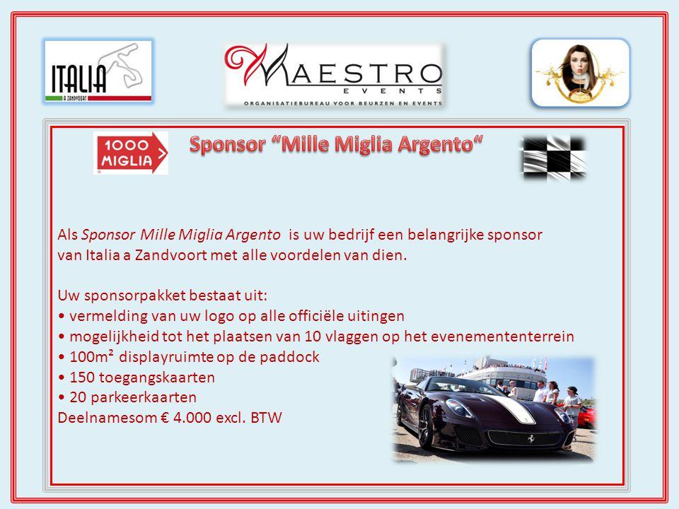 Maestro Events is een van de weinige evenementen- organisaties met een eigen blad.