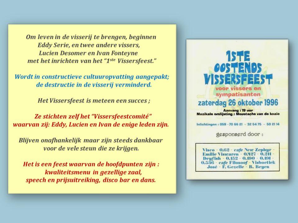 Het Visserijblad steunt de Vlaamse Vissersbond. Tijdens de blokkade wordt er proces verbaal opgemaakt ; even later belanden kustvissers op de rechtbank te Brugge.