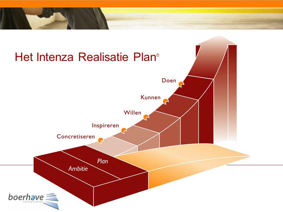 Het Intenza Realisatie Plan ©