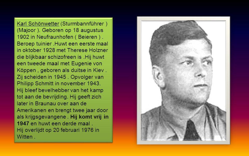Valt in de maand mei 1945 in de handen van de geallieerden, en wordt opgesloten in een Nederlandse gevangenis. Op 20 november 1945 wordt hij door toed
