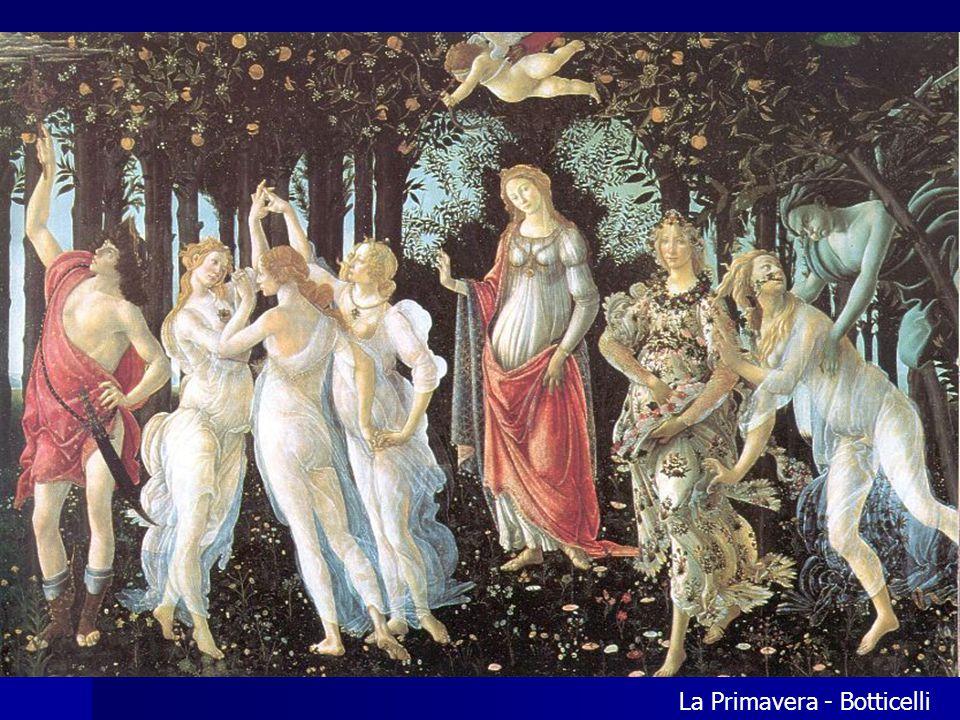 La Primavera - Botticelli