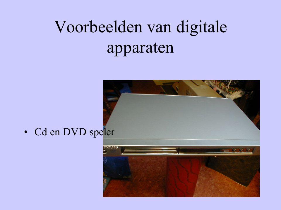 •Cd en DVD speler