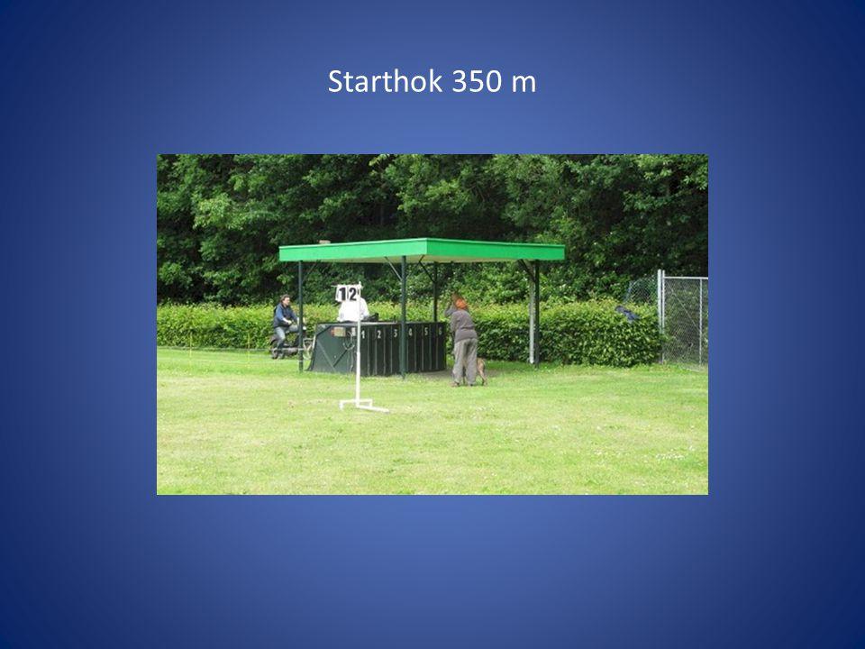 Starthok 350 m