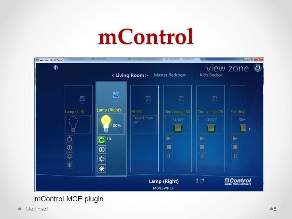 mControl 8Martinisoft mControl MCE plugin