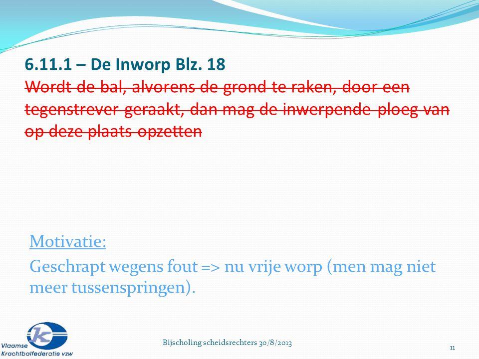 6.11.1 – De Inworp Blz.