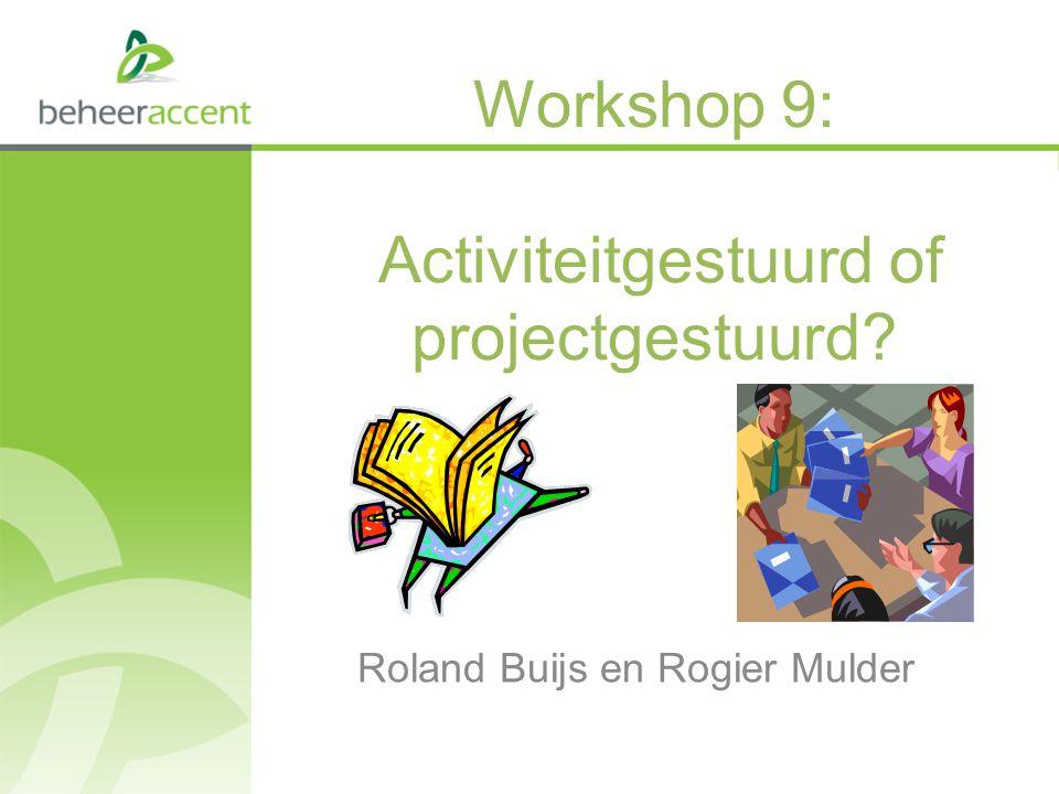 Programma 1.Voorstellen 2.Inleiding workshop 3.Opdracht 4.Plenair samenvatten 5.Samenvatting en conclusie workshop