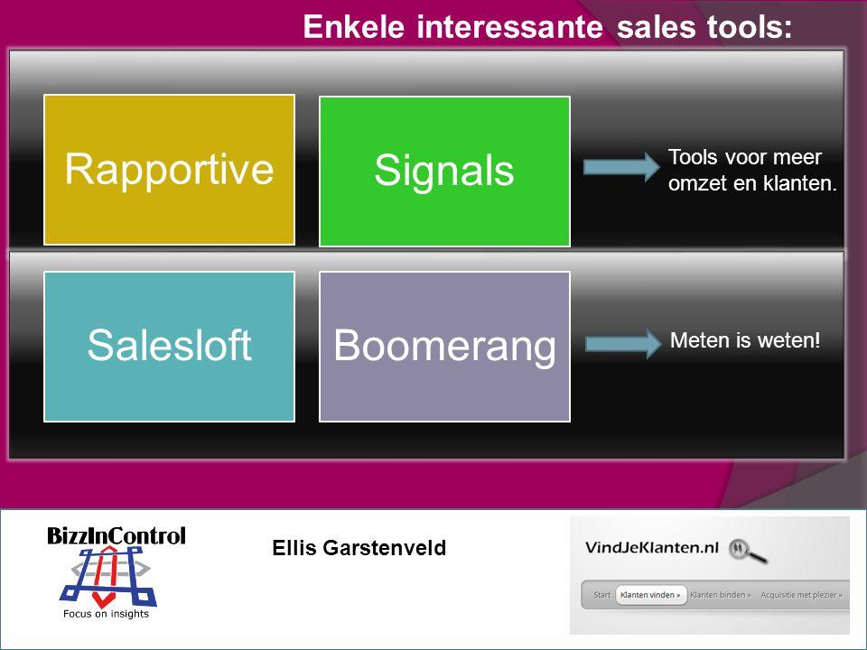 Rapportive Signals SalesloftBoomerang Tools voor meer omzet en klanten.