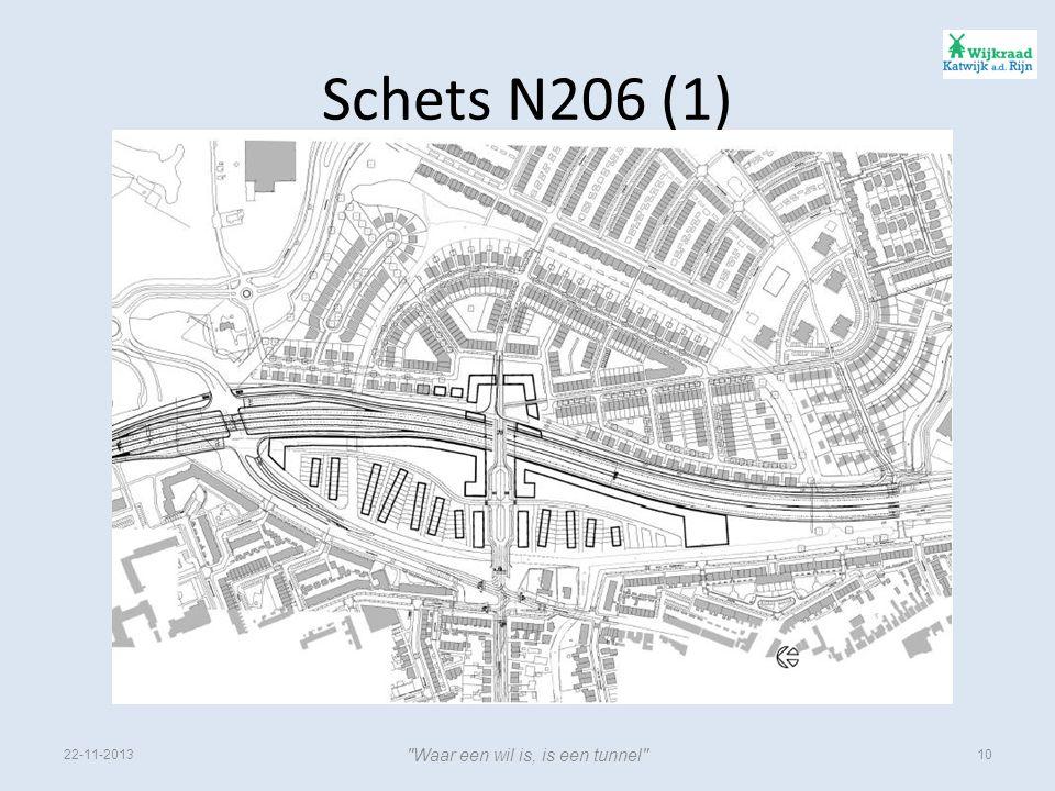Schets N206 (1) 22-11-201310 Waar een wil is, is een tunnel