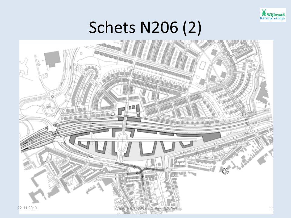 Schets N206 (2) 22-11-201311 Waar een wil is, is een tunnel