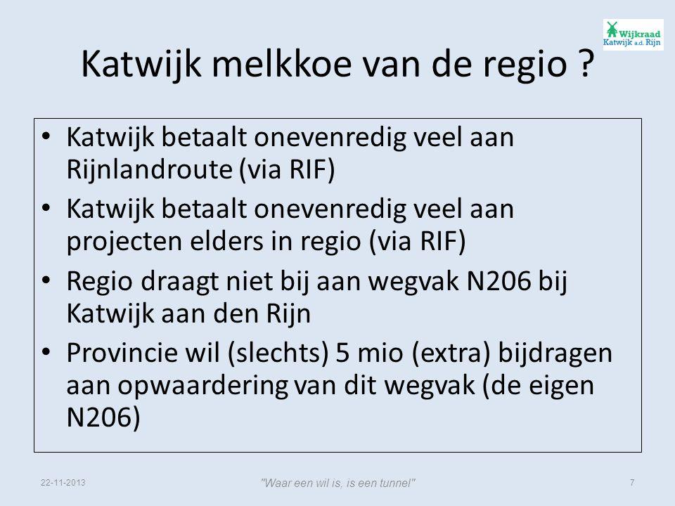 Katwijk melkkoe van de regio .