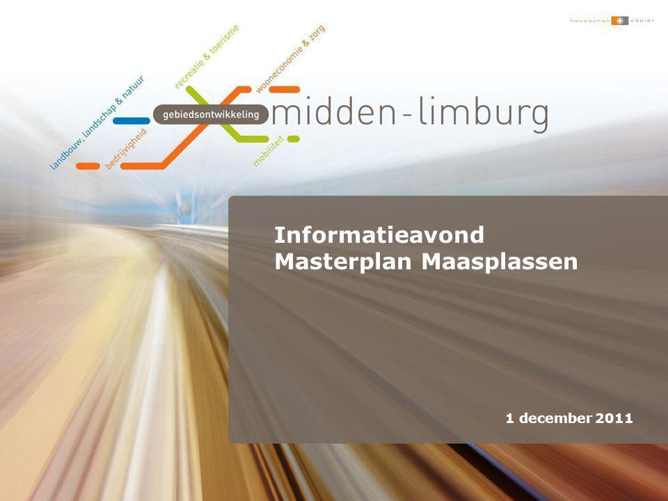 Informatieavond Masterplan Maasplassen 1 december 2011
