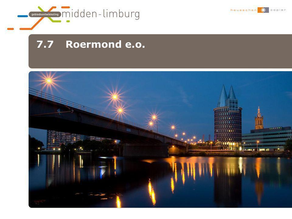 7.7 Roermond e.o. •xxx