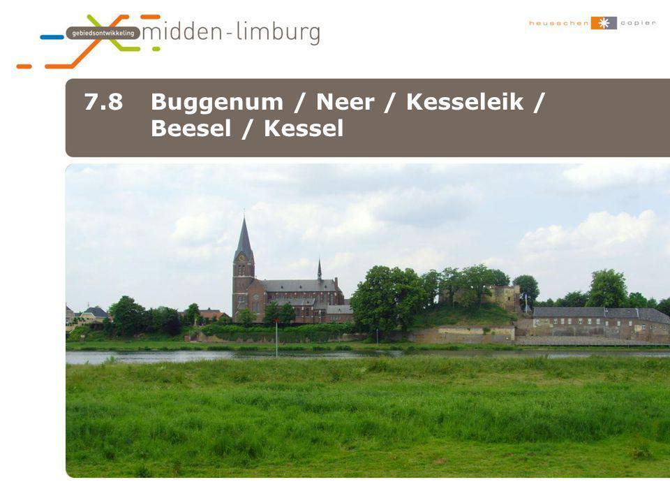 7.8 Buggenum / Neer / Kesseleik / Beesel / Kessel •xxx