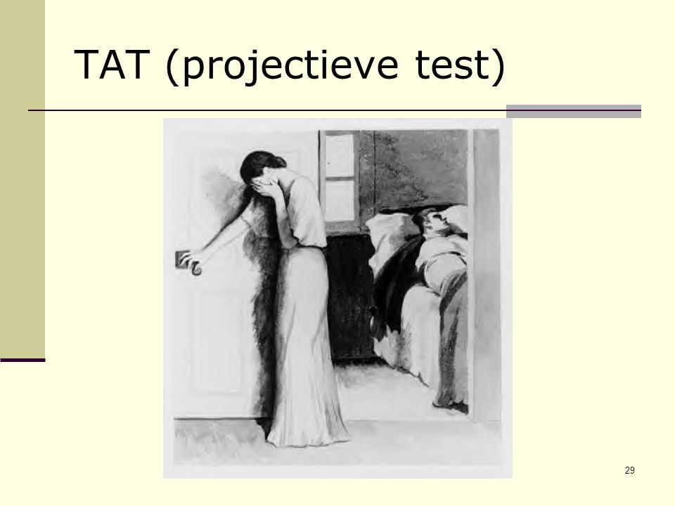 29 TAT (projectieve test)