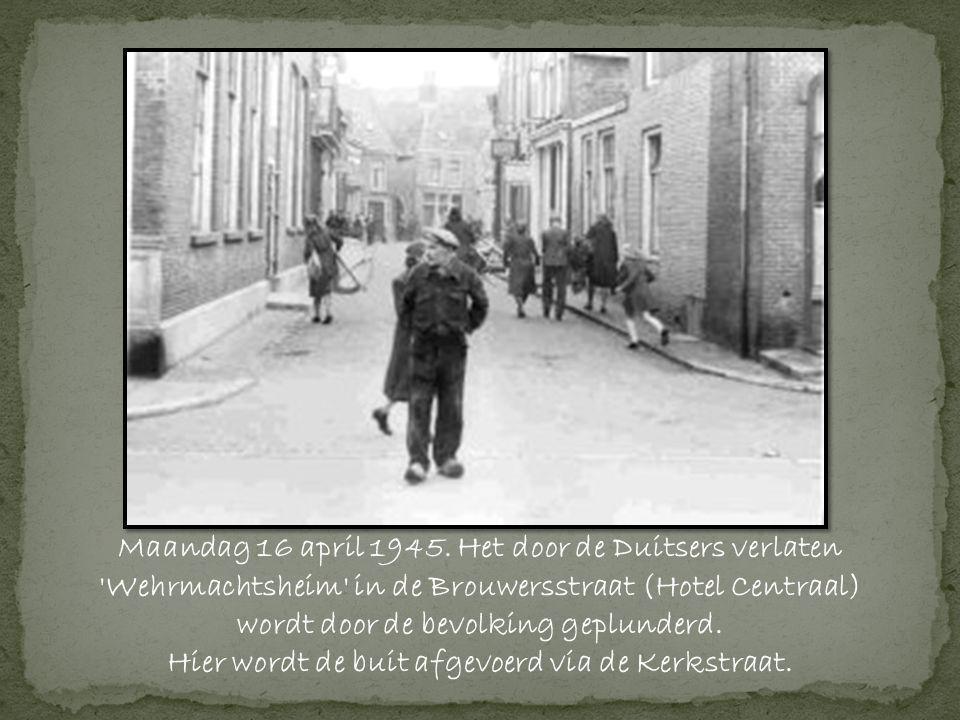 Maandag 16 april 1945.