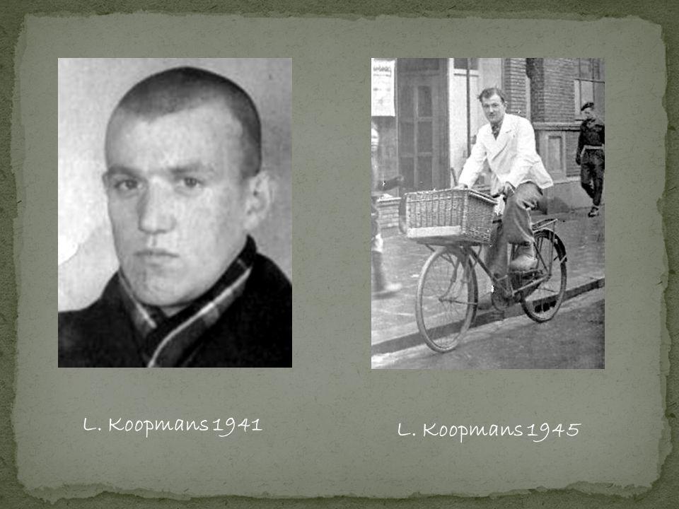 L. Koopmans 1941 L. Koopmans 1945