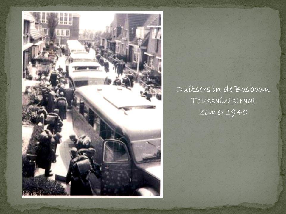 Duitsers in de Bosboom Toussaintstraat zomer 1940