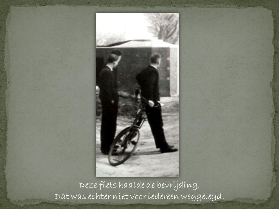 Deze fiets haalde de bevrijding. Dat was echter niet voor iedereen weggelegd.
