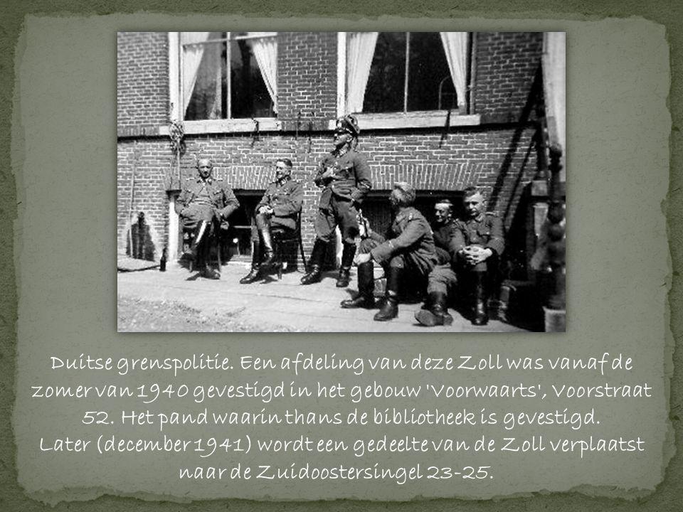 Duitse grenspolitie.