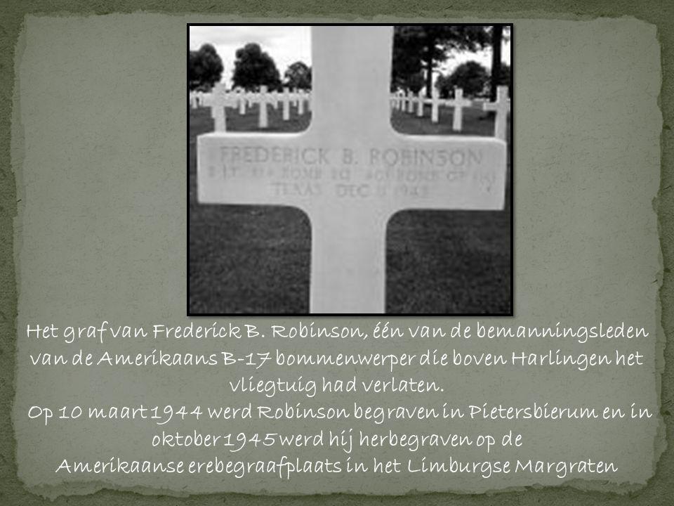 Het graf van Frederick B.