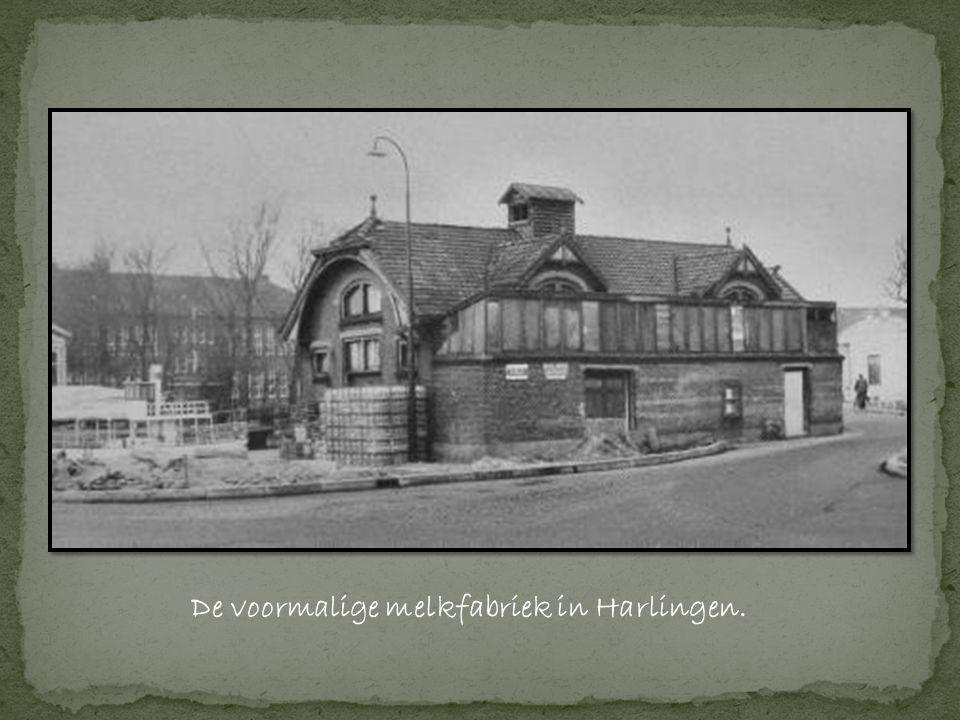 De voormalige melkfabriek in Harlingen.