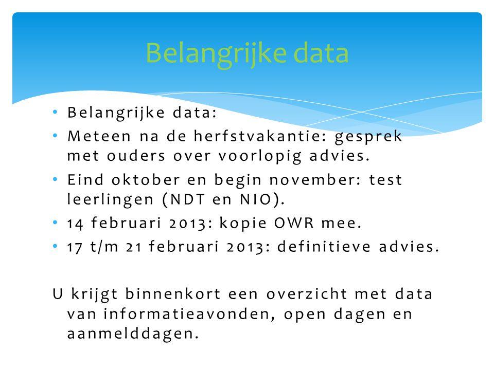 • Canisiuscollegecollege Nijmegen • De Groenschool / Helicon Nijmegen • Elzendaalcollege Boxmeer/ Gennep • Kandinsky Molenhoek/ Nijmegen • Merlet college in Cuijk, Mill en Grave • Metameer Boxmeer • Montessori college Nijmegen • PRO College Boxmeer, Wijchen en Nijmegen (nu nog 2 locaties) • St.