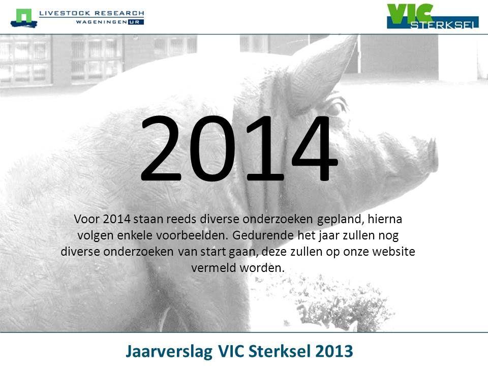 2014 Voor 2014 staan reeds diverse onderzoeken gepland, hierna volgen enkele voorbeelden. Gedurende het jaar zullen nog diverse onderzoeken van start