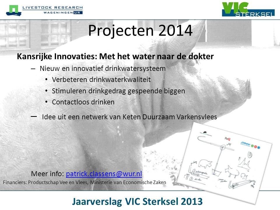 Kansrijke Innovaties: Met het water naar de dokter – Nieuw en innovatief drinkwatersysteem • Verbeteren drinkwaterkwaliteit • Stimuleren drinkgedrag g