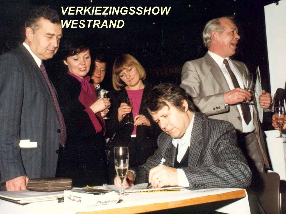 BRASSER & DE VRIENDEN KUURNE 1994 UTRECHT 1987 KNOKKE 1996 SCHEPDAAL 1992 KWB BRUSSEL 1999 HALLE 1997 VERKIEZINGSSHOW WESTRAND