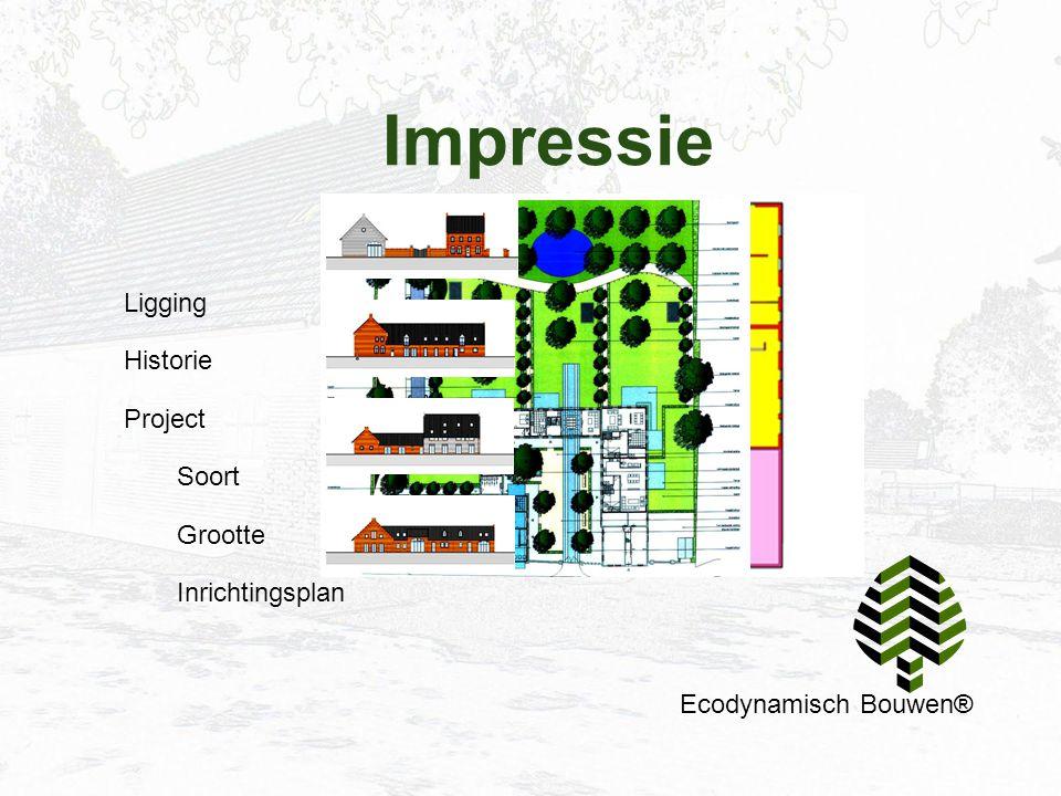 Impressie Ecodynamisch Bouwen® Ligging Historie Project Soort Grootte Inrichtingsplan