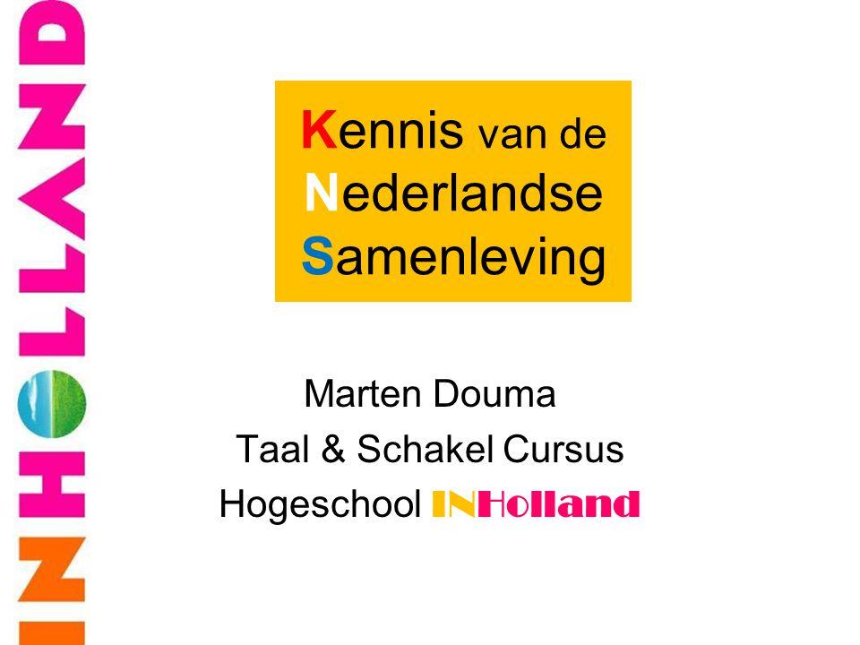 Marten Douma Taal & Schakel Cursus Hogeschool INHolland Kennis van de Nederlandse Samenleving
