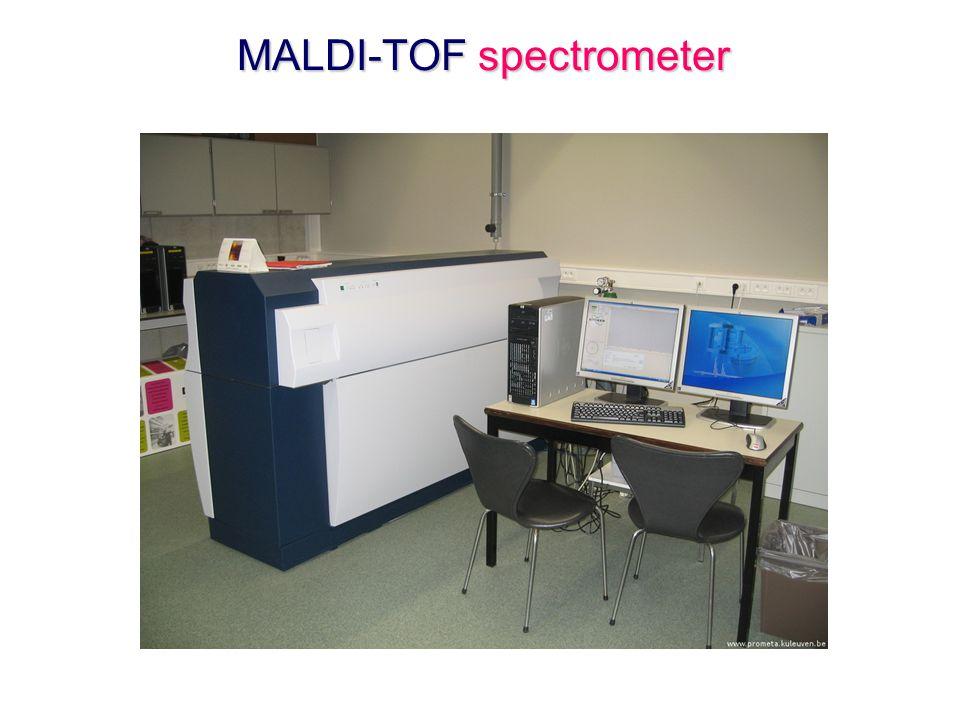 MALDI-TOF spectrometer