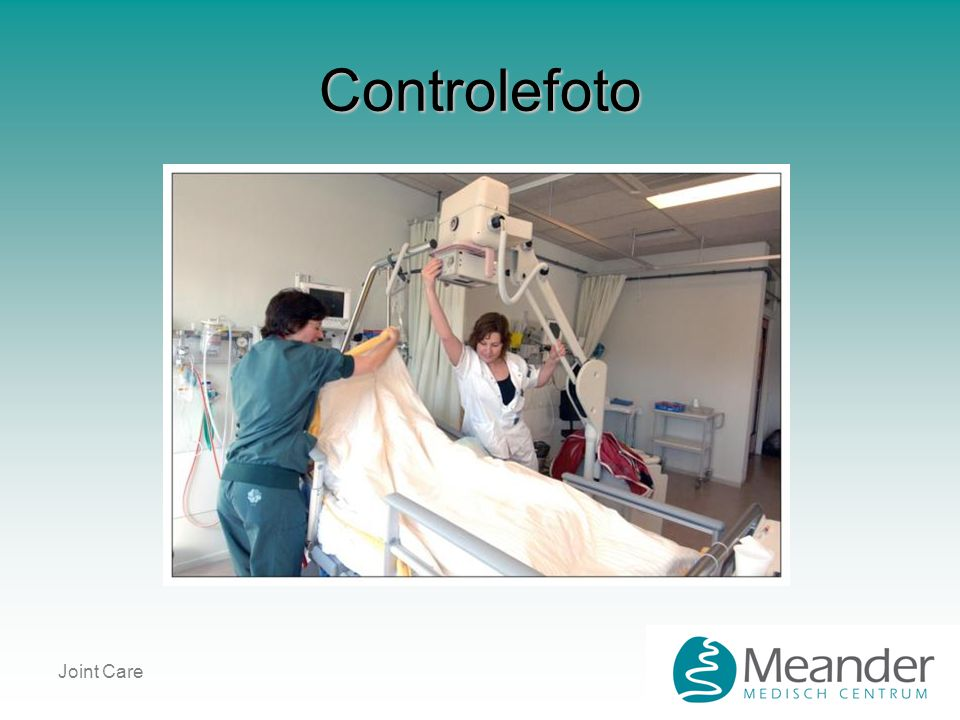 Joint Care Controlefoto