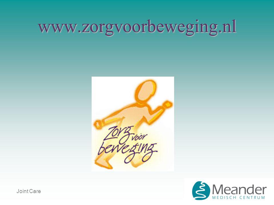 Joint Care www.zorgvoorbeweging.nl