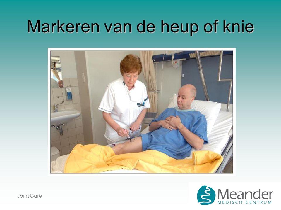 Joint Care Markeren van de heup of knie