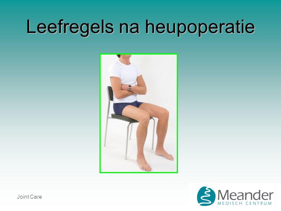 Joint Care Leefregels na heupoperatie