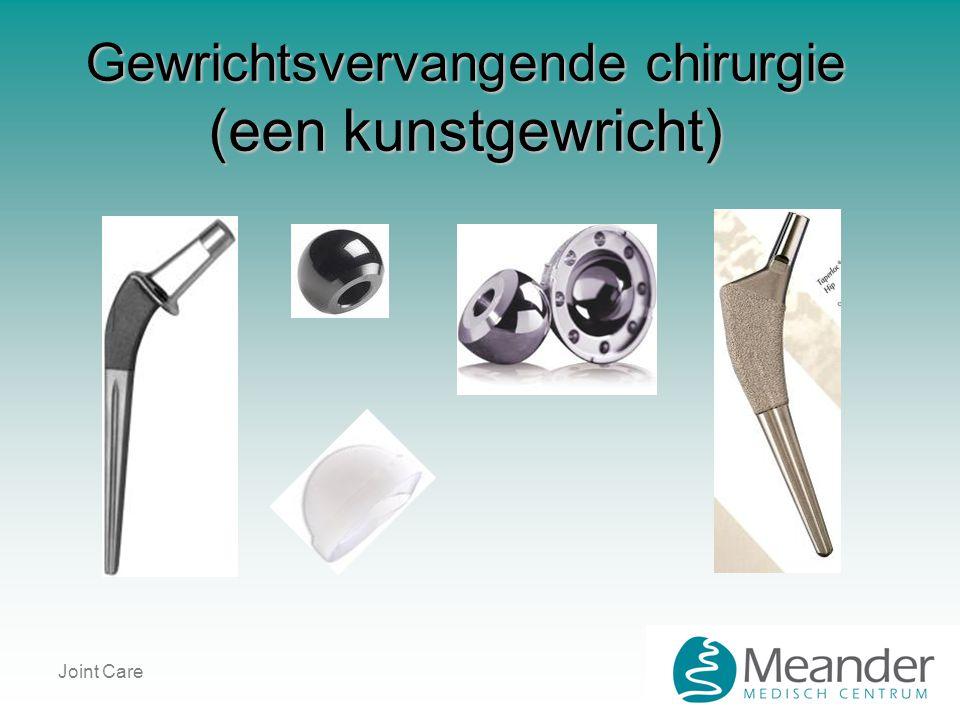 Joint Care Gewrichtsvervangende chirurgie (een kunstgewricht)