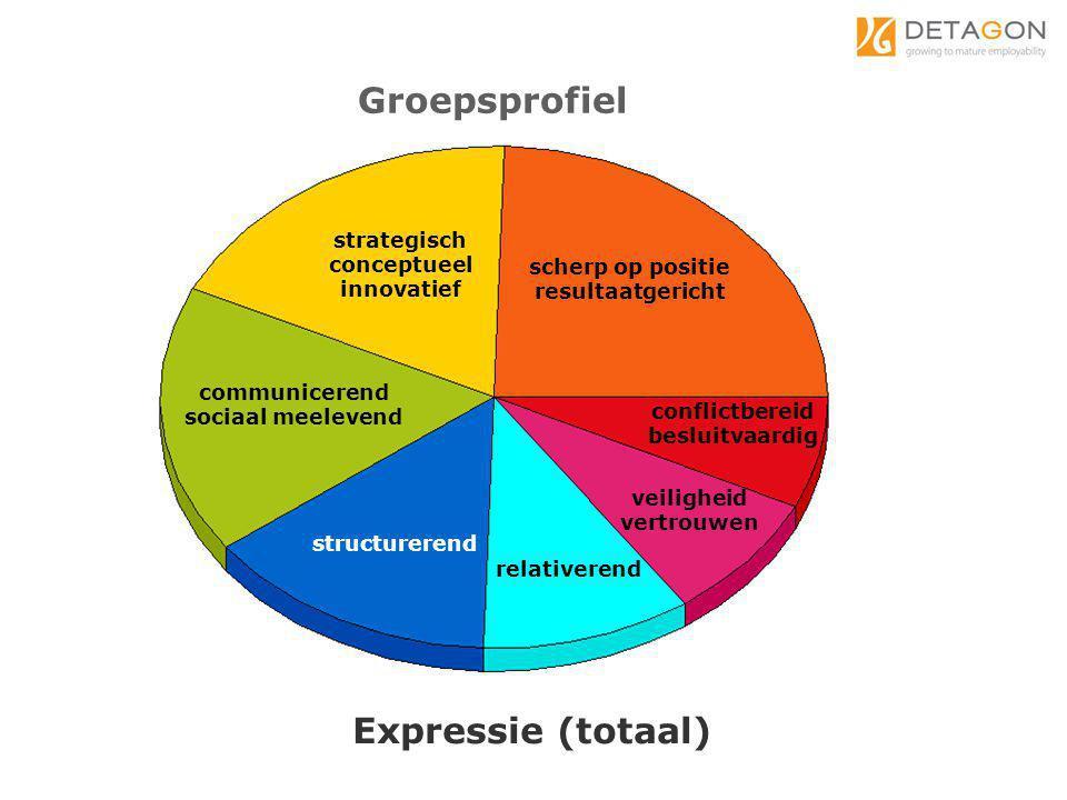 communicerend sociaal meelevend strategisch conceptueel innovatief scherp op positie resultaatgericht conflictbereid besluitvaardig structurerend Expr