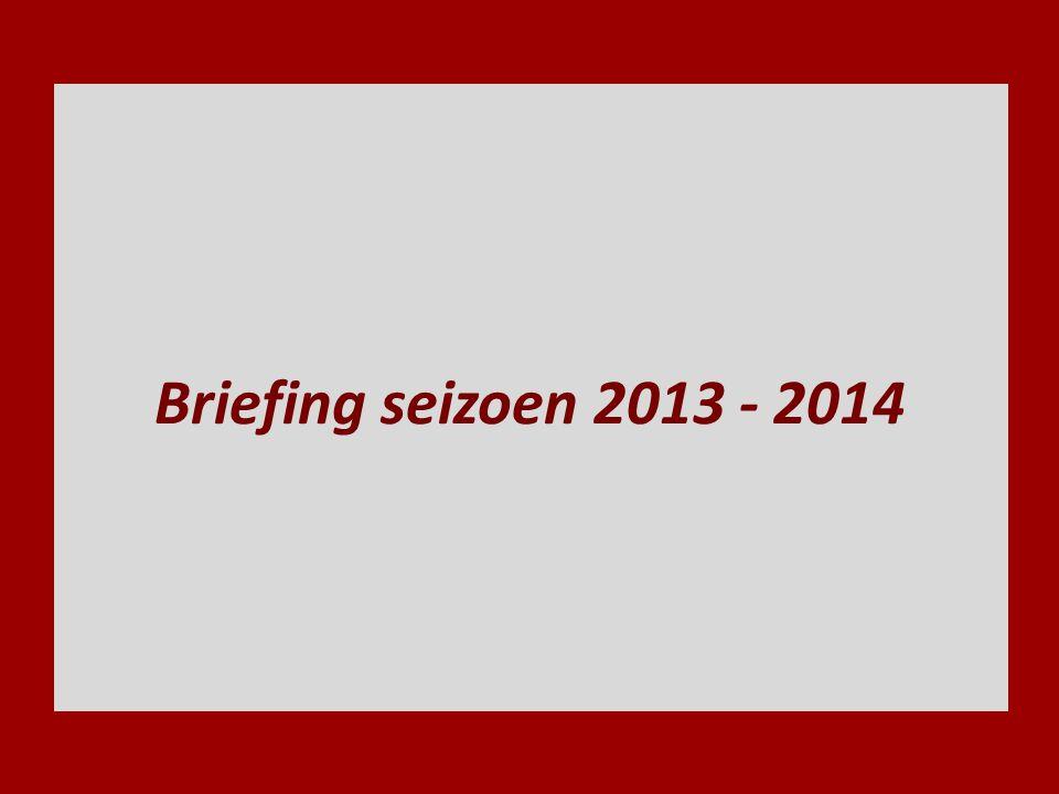 spelregelbriefing seizoen 2013-201432 Stoppen bal boven schouder Gebruik lichaam en stick