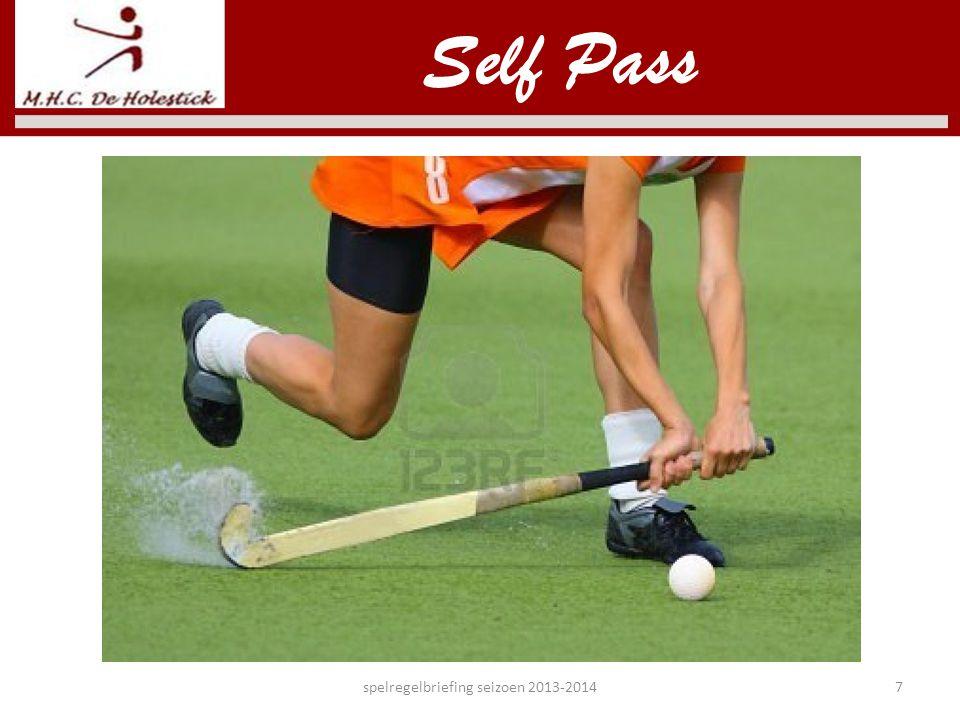 spelregelbriefing seizoen 2013-20147 Self Pass