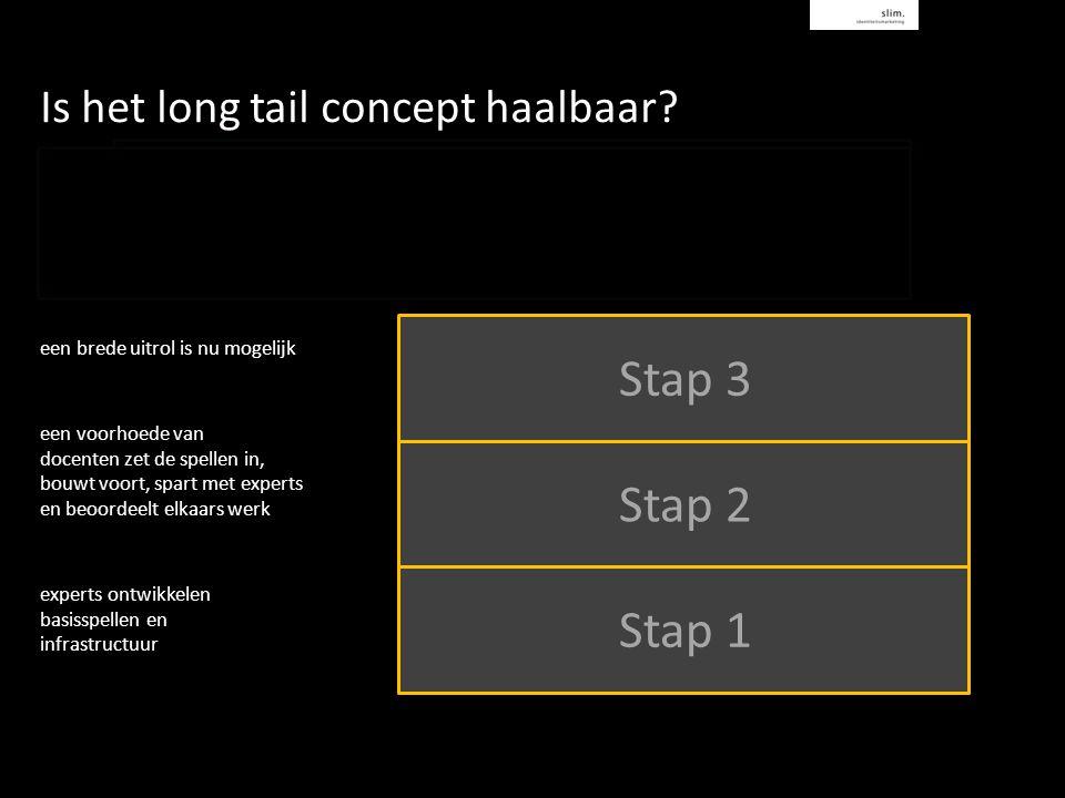 Is het long tail concept haalbaar.