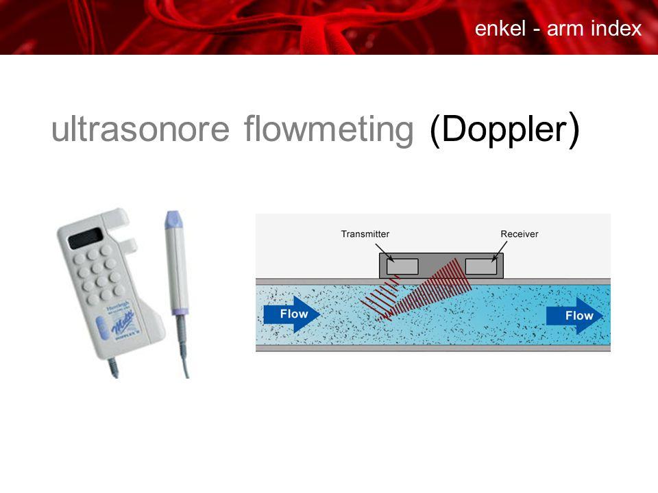 ultrasonore flowmeting (Doppler )