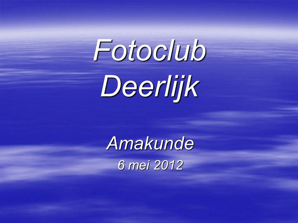 Fotoclub Deerlijk Amakunde 6 mei 2012